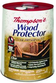 Thompsons 11806 5 Gal Ext Clear Wood Protector