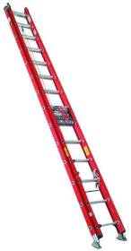Werner Co D6220-2 20 ft Type1a Fiberglass Extension Ladder