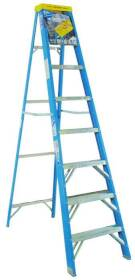 Werner Co 6008 8 ft Type1 Fiberglass Stepladder
