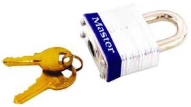 Master Lock 3D 1-9/16 in 4 Pin Steel Padlock