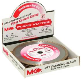 Mk Diamond 157420 Plank Kutter 7 in Bulk