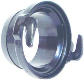 United States Hardware RV-309B Straight Flex Hose Adapter