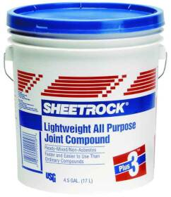 US Gypsum 381466048 4.5 Gal Light+3 Joint Compound