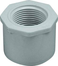 Genova 34250 1-1/2 x 1 Pvc Reducing Bushing
