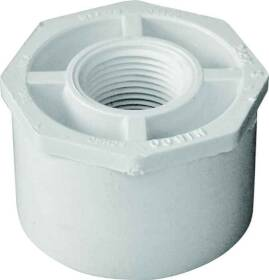 Genova 34227 2 x 3/4 Sxf Pvc Reducing Bushing