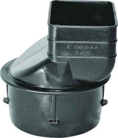 Hancor 0464AA Heavy Duty Downspout Adapter