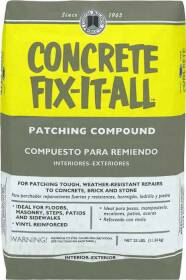 Custom Building Products DPCFL25 25lb Fix It All Concrete Patch