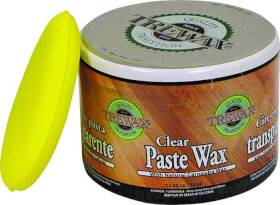 Beaumont Products Inc 887101016 Trewax Paste Wax 12.35 oz Clear