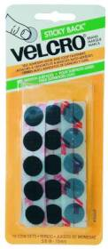 Velcro Usa Inc 90069 5/8 in Black Velcro Coin Fastener