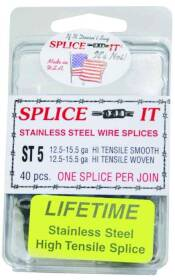 New Farm Products ST5 Stainless Steel Fence Splices