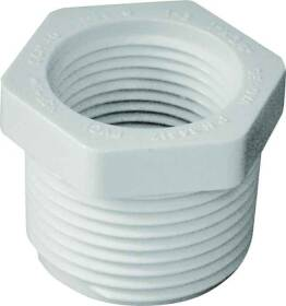 Genova 34317 1 x 3/4 Pvc Reducing Bushing