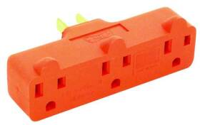 Cooper Wiring 4402RN-BOX Heavy Duty Orange Adapter