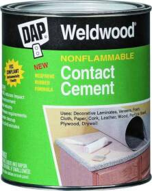 Dap 25336 Non- Flammable Contact Cement Tan