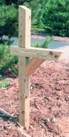 Universal Forest 82897/106053 Standard Treated Mailbox Post