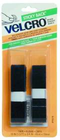 Velcro Usa Inc 90078 18x3/4 Black Velcro Tape Fast