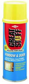 Dow Chemical 175437 Window and Door Insulating Foam Sealant 12 oz