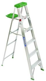 Werner Co 356 6 ft Type 2 Aluminum Step Ladder
