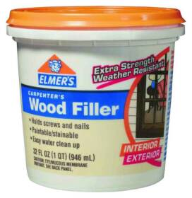 Elmer's Products E842L Quart Carpenters Interior & Exterior Wood Filler