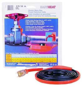 Easy Heat AHB-115 15 ft Esyheat Braided Heat Tape