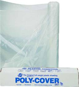 Lbm Poly 6X24-C 24x100 ft 6mil Clear Poly Film
