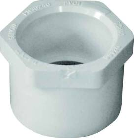Genova 30240 1-1/4 x 1 Pvc Slip Reducing Bushing