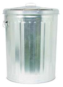 Dover Parkersburg 630 Galvanized Garbage Can W/Lid 30 Gal