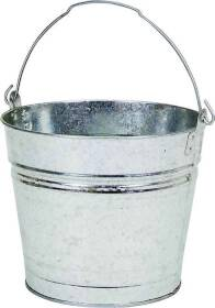 Dover Parkersburg 612 12 Qt Galvanized Metal Water Bucket