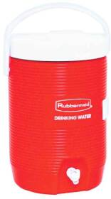 Rubbermaid Home 1683-01-11 3 Gal Org Comm Water Cooler