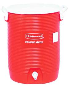 Rubbermaid 1685-01-11 5 Gal Orange Commercial Water Cooler