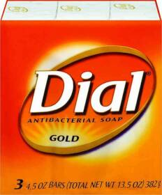 Dial Corporation 1095248 Dial Gold 3 Bars 4 oz