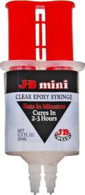 J-B Weld Company 8212-S Jb Mini Clear One Use Syringe