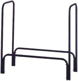 Homebasix A910BK-C 48x14x48 Black Log Rack