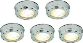 Good Earth Lighting G9165-SSX-I 5 Lt Xenon Puck Kit 12v Stainless Steel