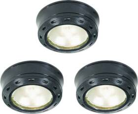 Good Earth Lighting G9163-BKX-I 3lt Xenon Puck Kit 12v Black