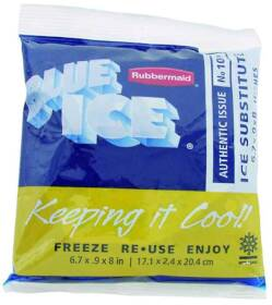 Rubbermaid Home 1006TL220 Ice Pack Soft B Blue Ice