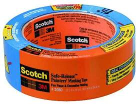 3M 2080-1.5A 1.5 in x 60yd Safe Release Tape
