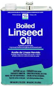 WM Barr GLO45 Boiled Linseed Oil Gallon