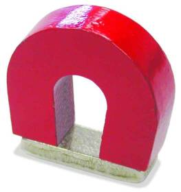 Master Magnetics 07279 1 in 2# Horseshoe Magnet W/Keeper