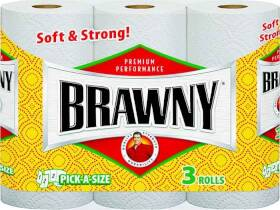 Georgia-Pacific 44514 Brawny Paper Towel 3 Roll Pick-A-Size