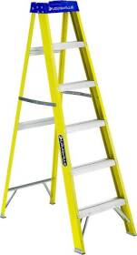 Louisville Ladder FS2006 6 ft Fibergls Stepladder Type I