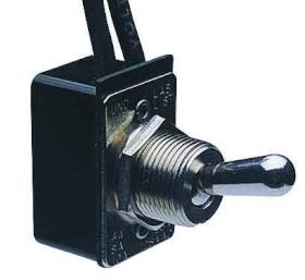 Calterm Inc 41720 Metal Toggle Switch W/Leads