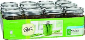 Jarden Home Brands 66000 Pint Wide Mouth Mason Jar