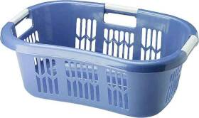 Newell Rubbermaid Home 299700ROYBL/29978 Laundry Basket Hip Blue