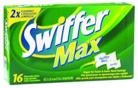 Procter & Gamble 33903 16ct Swiffer Disposable Cloth