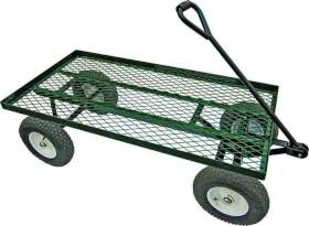 Landscapers Select YTL22115 1200-Pound Load Capacity Steel Garden Cart With Comfort Grip Handle