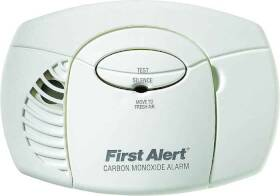 First Alert CO400 Co Alarm Battery Operated Aa
