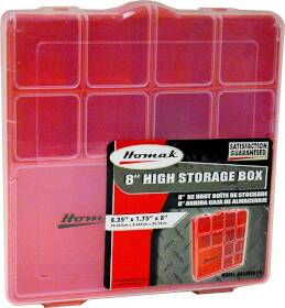 Homak 0061242 Storage Box Tall