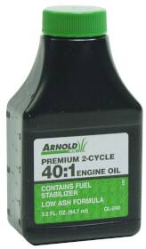 Arnold Corp 74237 3.2 oz 40:1 2cycle Oil