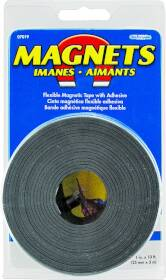 Master Magnetics 0117564 1 in X10 ft Flex Magnetic Taperoll