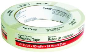 3M 279034 1 in x60yd Masking Tape